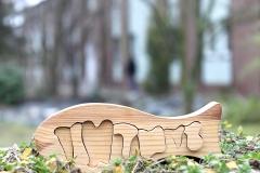 Puzzlefisch aus Holz